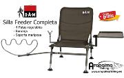 DAM FEEDER CHAIR COMPLETE Silla Feeder Completa