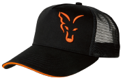 Gorra FOX BLACK & ORANGE TRUCKER CAP