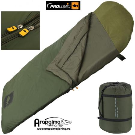 Saco de dormir Prologic Thermo Armour Supreme Sleeping Bag 5 Seasons multicapa impermeable