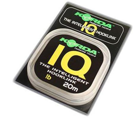 KORDA IQ THE INTELLIGENT HOOKLINK 20 LB