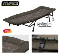 Bed Chair MAD BSX Camo Flatbed 6 legs