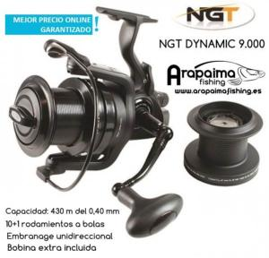 OFERTA FLASH! NGT Dynamic 9000 10 BB Big Pit