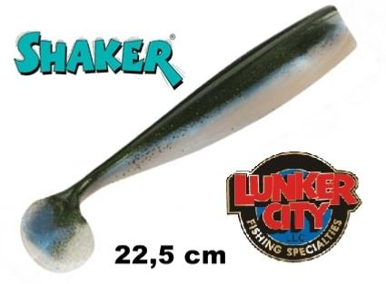 Lunker City Shaker Shad (PACK DE 3) 22,5 cm ALEWIFE