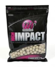 OFERTA LANZAMIENTO: MAINLINE Boilies High Impact WHITE DIAMONDS 1 kg 20 mm