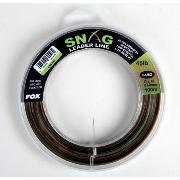 FOX SNAG LEADER LINE CAMO 0,60 mm 100 m 20,5 kg