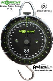 KORDA LIMITED EDITION BASCULA SCALES REUBEN HEATON 54 kg