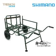 SHIMANO TRIBAL  Trench Barrow 2 Wheel CARRO de TRANSPORTE