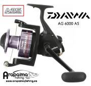 Carrete Siluro DAIWA AG6000 AS