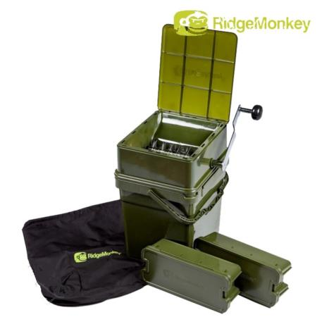 Ridge Monkey Advanced Boilie Crusher full set