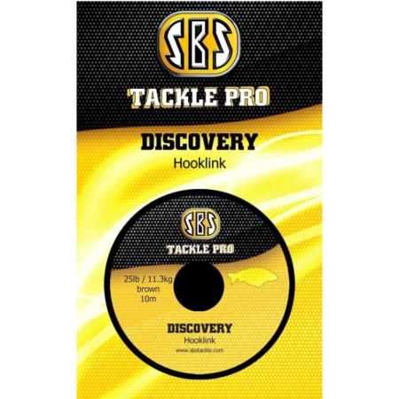 SBS TACKLE PRO DISCOVERY Hooklink 25 Lb (11,3 kg)