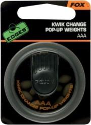 FOX KWIK CHANGE POP-UP WEIGHTS AAA (PLOMOS PARA BAJOS)