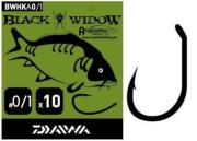 DAIWA Carp Hook Black Widow Tipo A - Nº 0/1