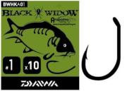 DAIWA Carp Hook Black Widow Tipo A - Nº 1