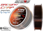AWA-SHIMA ION POWER BROWNY CARP 0,33mm 15,90kg 1200m