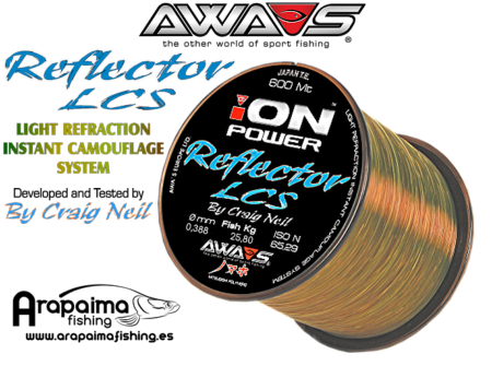 AWA-SHIMA ION POWER REFLECTOR LCS 0,38mm 25,8 kg 600m