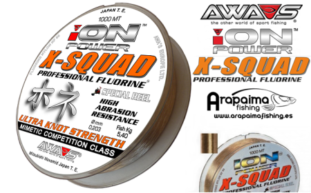 AWA-SHIMA ION POWER X-SQUAD PROFESSIONAL FLUORINE 0,35mm 15.70 kg 1000 m