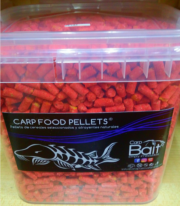 CARP FOOD PELLETS PLUM 6 mm Formato Ahorro: Cubo 2,5 kg