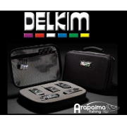 DELKIM BLACK BOX STORAGE CASE Maletin para hasta 4 alarmas Delkim