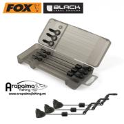 NOVEDAD! MALETIN CON 3 TENSORES FOX BLACK LABEL EDITION MINI SWINGER BLACK