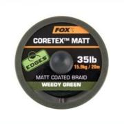 FOX CORETEX MATT 35 LB 20 m color WEEDY GREEN