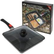 NGT multi section frying pan with lid (sarten multiseccion con tapadera)
