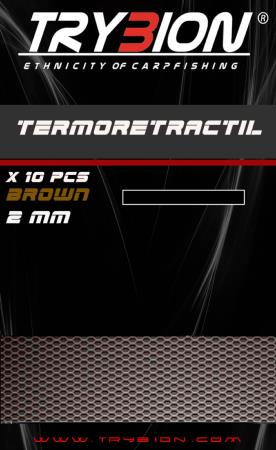 TRYBION TACKLE TERMORRETRACTIL 2 mm MARRON