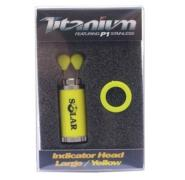 SOLAR TACKLE TITANIUM INDICATOR HEAD LARGE YELLOW Cabezal de tensores