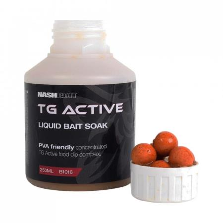 NASH BAIT TG ACTIVE LIQUID BAIT SOAK 250 ml