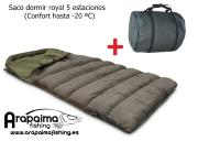OFERTA FLASH! Saco de dormir ROYAL 5 Estaciones PORTES GRATIS!