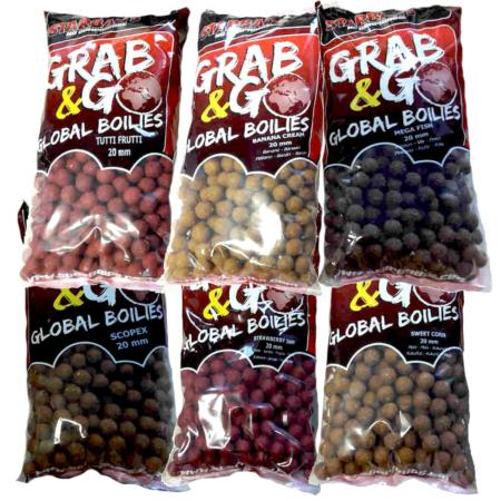 STARBAITS GRAB & GO GLOBAL BOILIE TIGERNUT CHUFA 20 mm 1 kg