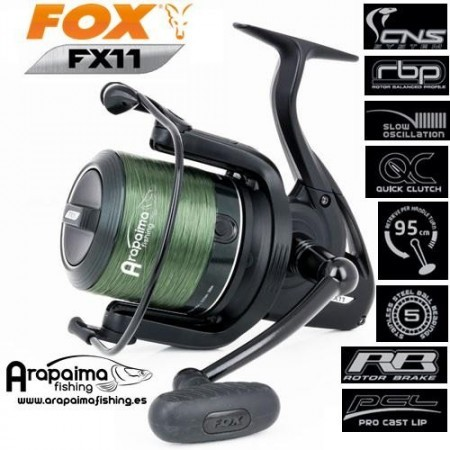 OFERTA: Carrete FOX FX11