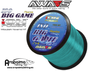 AWA-SHIMA ION POWER ISO BIG GAME BLUE FLUORINE 0,35mm 21.50 kg 1000 m