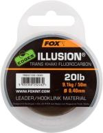 FOX ILLUSION TRANS KHAKI FLUOROCARBON 0,40 mm 50 m 9,1 kg