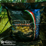 CARP MAX BALL PELLETS SWEETCORN 20 mm 3 kg Boilies de disolucion ultrarapida