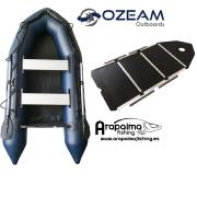 NEUMÁTICA OZEAM AZUL 360 SUELO COMPLETO MADERA + QUILLA INFLABLE