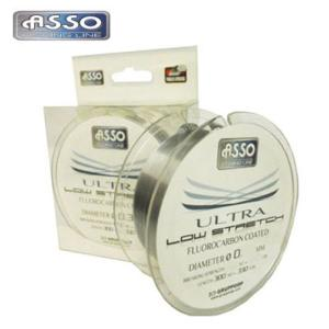 FLUOROCARBONO ASSO ULTRA LOW STRECH EN 0,50 mm 32 kg