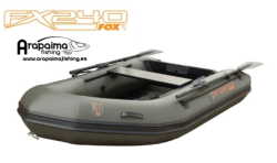 FOX FX240 INFLATABLE BOAT INC. HARD MARINE PLY FLOOR