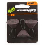 Plomo bajero FOX DOWNRIGGER BACKLEAD 21 gr. 3 unid.