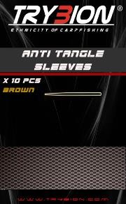 TRYBION TACKLE ANTI TANGLE SLEEVES MARRON