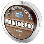 ASSO MAINLINE PRO BROWN 0,35 mm 20 Lb 1000 m