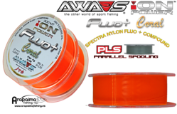 AWA-SHIMA ION POWER FLUO+ CORAL 0,33 mm 16,20 kg 600 m