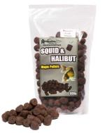 SQUID & HALIBUT PELLETS PERFORADOS 16 mm 800 g
